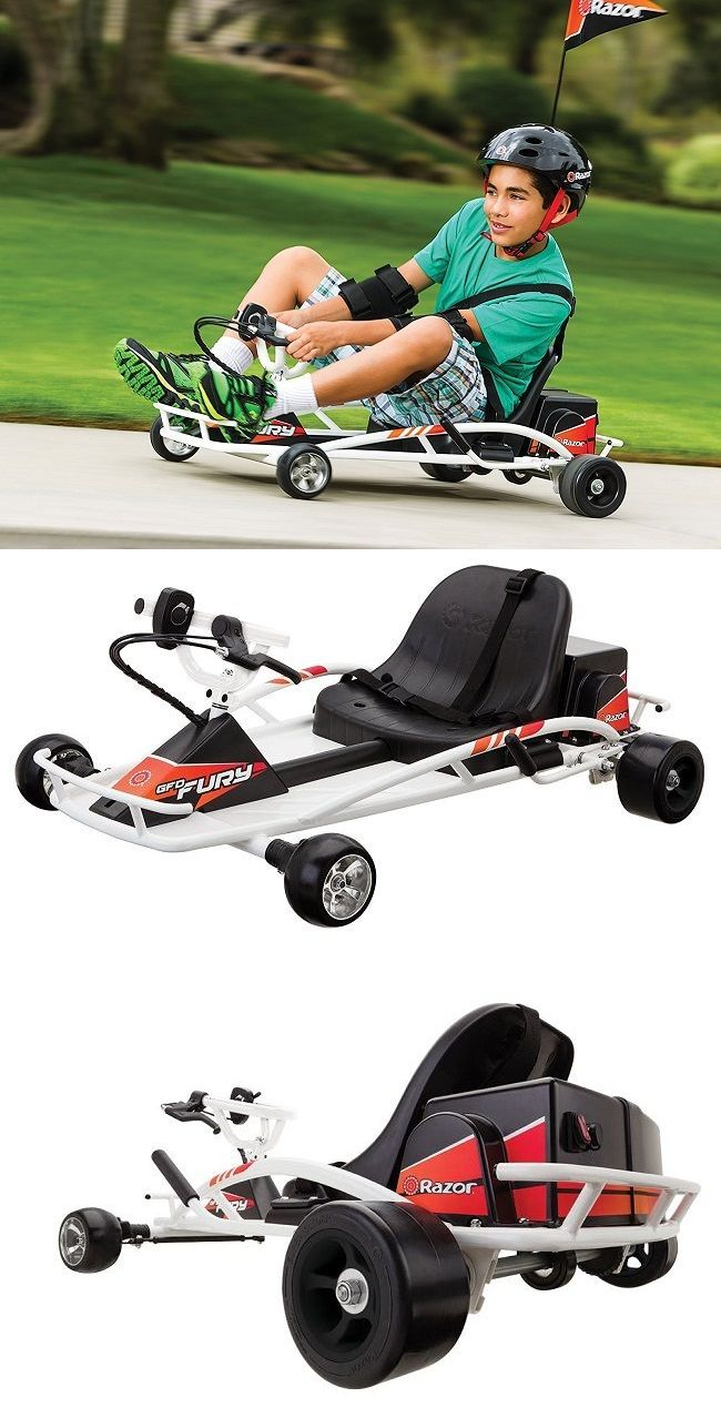 Complete Go-Karts and Frames 64656: Kids Go Kart Electric Drifter Cart Ride On Car Outdoor Racing Toys Scooter Razor -> BUY IT NOW ONLY: $410.74 on eBay!