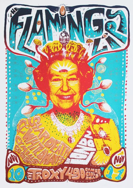 GigPosters.com - Flaming Lips, The - Star Death & White Dwarfs - Cymbals Eat Guitars