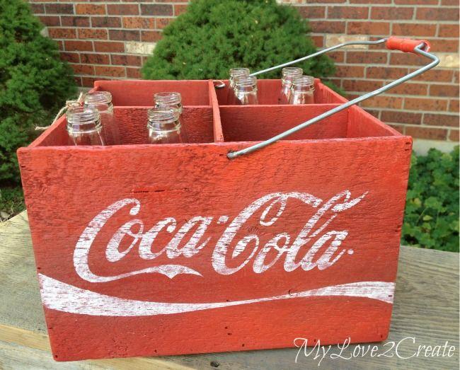 My Love 2 Create: DIY Coca-Cola Crate