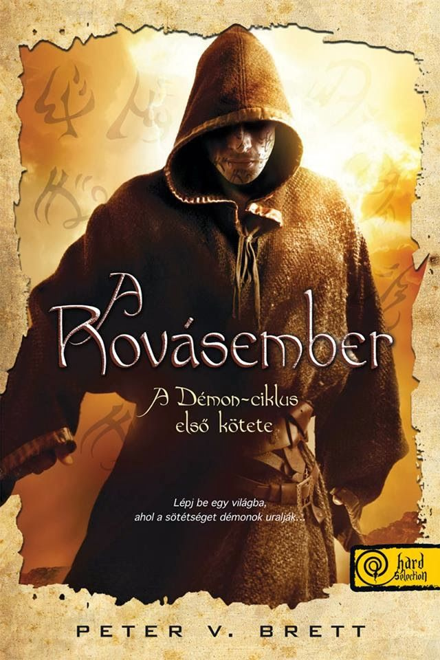 Peter V. Brett | A Rovásember | The Painted Man | hungarian cover | #book #fantasy #cover