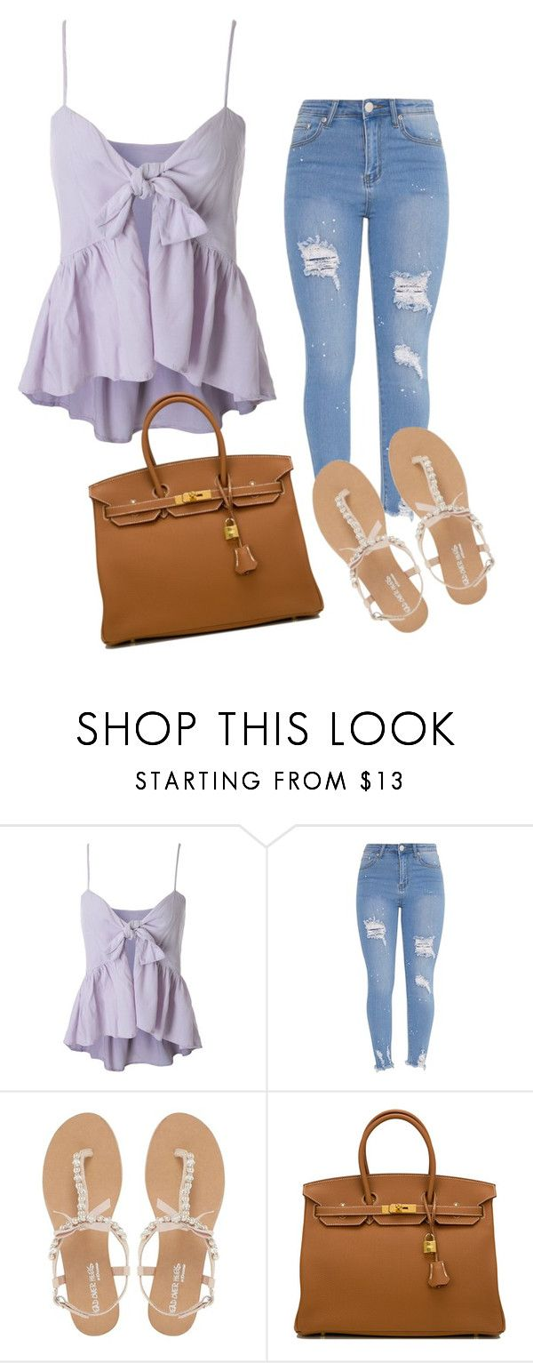"""""""."""" by valeria-arcos on Polyvore featuring Head Over Heels by Dune and Hermès"""