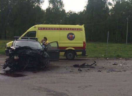 Ребенок и два водителя пострадали в аварии - Сайт города Домодедово