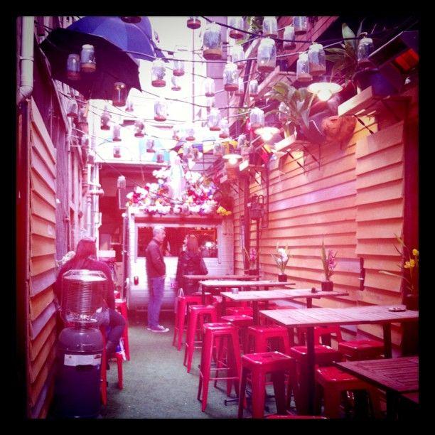 Chuckle Park cafe, Melbourne.