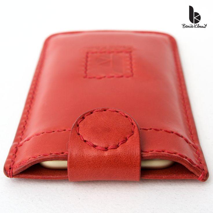 Handmade leather a mobile cover by Brano Klocan LEATHERCRAFT  Ručne šitý kožený obal na telefón