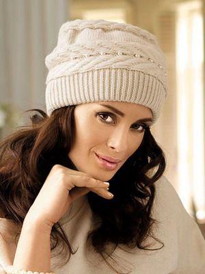 Модные шапки-2015: фото модных вязаных женских шапок для зимы 2015 года