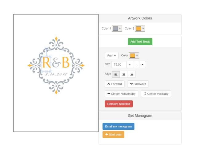 Create a Custom Monogram With These Free Monogram Generators: Free Monogram Maker at Invys