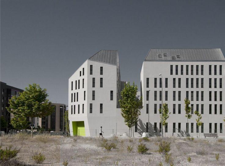 Logement social à Madrid / Bureau d'architecture Iñaqui Carnicero