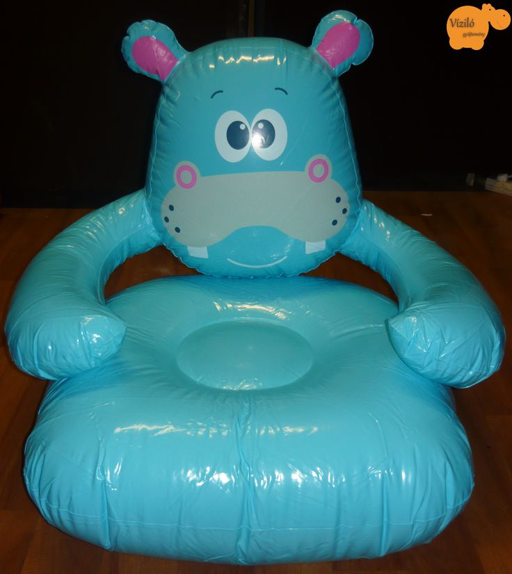 No. 797 | víziló | felfújható fotel | Tesco | hippo | inflatable sofa