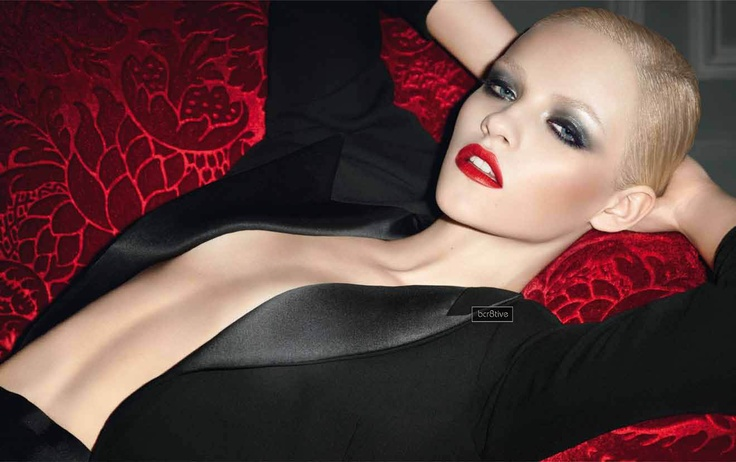 Ginta Lapina for Yves Saint Laurent Rouge Pur Couture Lipstick