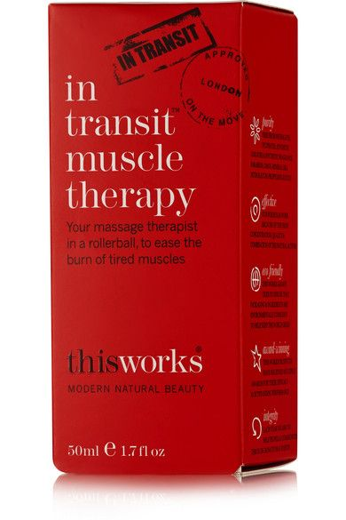 This Works - In Transit Muscle Therapy, 50ml - Colorless