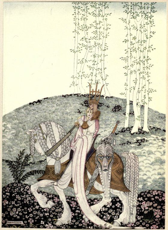 patternprints journal: THE WONDERFUL AND REFINED KAY NIELSEN'S ILLUSTRATIONS