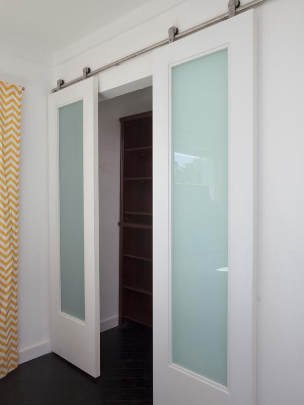 From Flipping the Block - Want this door between master bedroom to bath. Alternative to pocket door.
