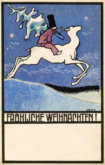 Wiener Werkstätte Holiday Cards | www.neuegalerie.org