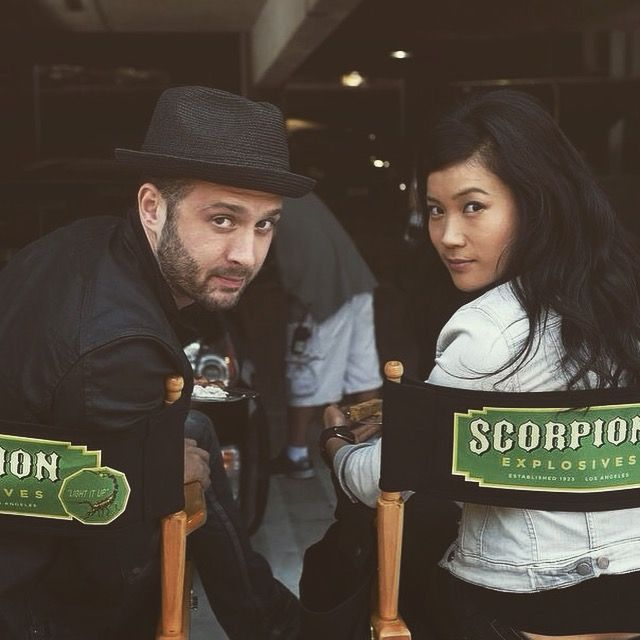 Eddie Kaye Thomas and Jadyn Wong.