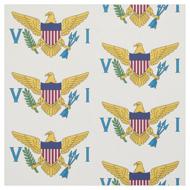 U S Virgin Islands Flag Large Fabric In 2020 Printing On Fabric Virgin Islands Flag Create Fabrics
