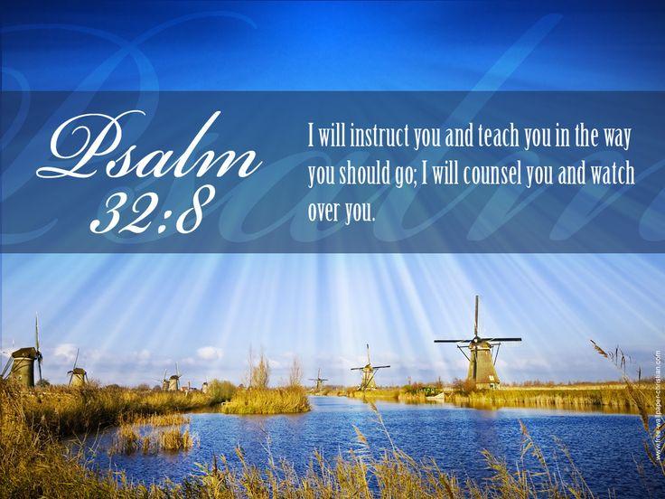 Image result for Psalm 32:8 kjv