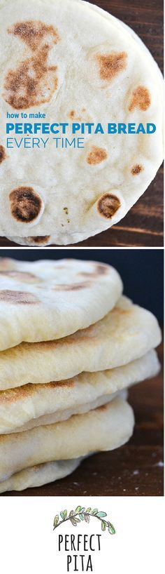 Easy step by step instructions for making perfect pita bread everytime.