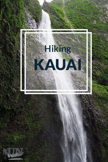 Kauai is a playground for hikers! The Hanakapi'ai falls trail is a part of the famous Kalalau Trail.