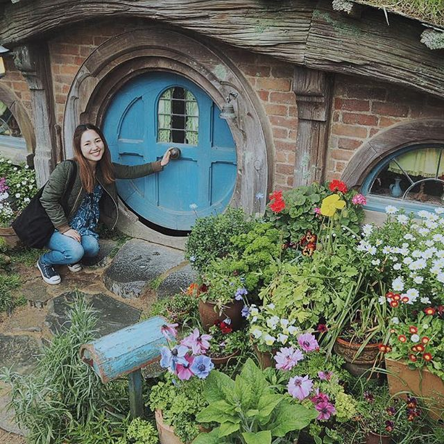 Hobbiton town #nz#nzmustdo#auckland#hobbiton#hobbitontown#northislandnz#travel#holiday#trip#travelphotographey#instatravel#roadofthering#movie#movieset#ニュージーランド#オークランド#ホビット#ホビット村#旅行#ロードオブザリング