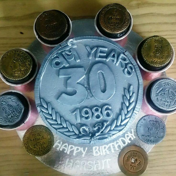 Coin cake