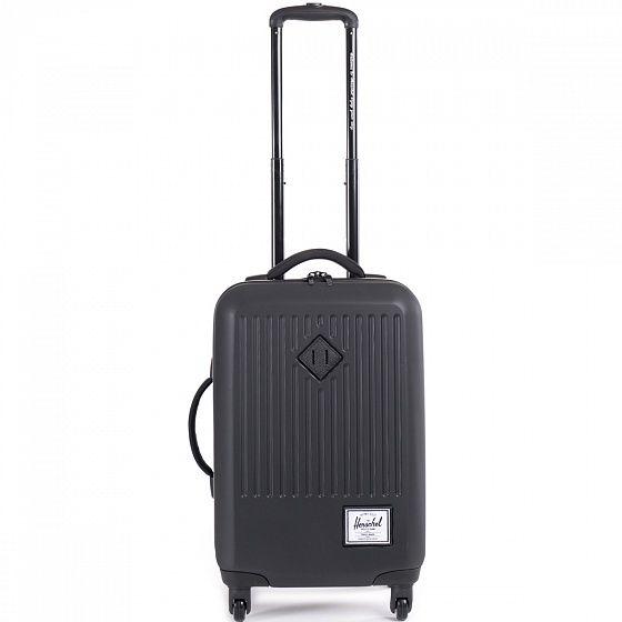 Младшая версия Herschel Trade L - прочный и вместительный чемодан, который станет отличным компаньоном как для коротких, так и для дальних поездок. В него с легкостью поместится необходимый гардероб, а благодаря внутренним сетчатым перегородкам Ваши вещи останутся в полном порядке. Колеса в 360-градусным поворотам и выдвижная ручка позволят катить чемодан в вертикальном положении, не нагружая рук.