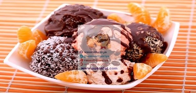 طريقة تحضير الآيس كريم في المنزل Food Ice Cream Desserts