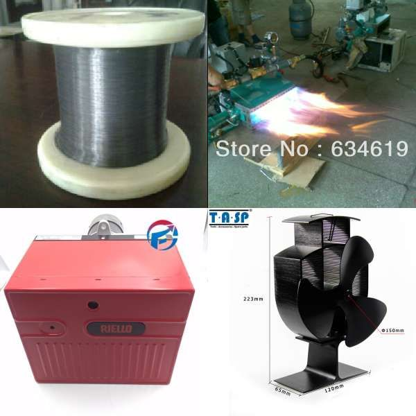 Industrial Natural Gas Fire Burner Oven Heater One Stage Heating