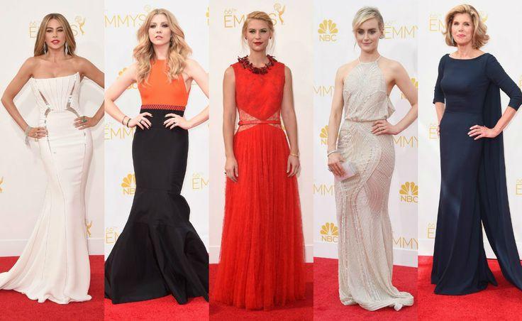 Vestidos de festa Emmy 2014 - Confira os looks do tapete vermelho