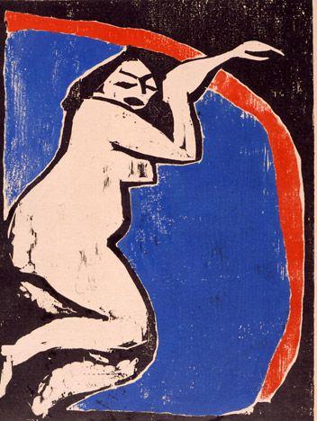 Erich Heckel (1883 -1970) was een Duitse schilder en graveur. Heckel was een van de oprichters van de kunstenaarsgroep Die Brücke, een groep in 1905 in Dresden werd opgericht en bestond tot 1913. Samen met de groep Der Blaue Reiter vormde ze de kern van het Duitse expressionisme. Die Brücke begon met vier leden die een brug wilden slaan tussen de traditionele Duitse kunst en het moderne expressionisme.