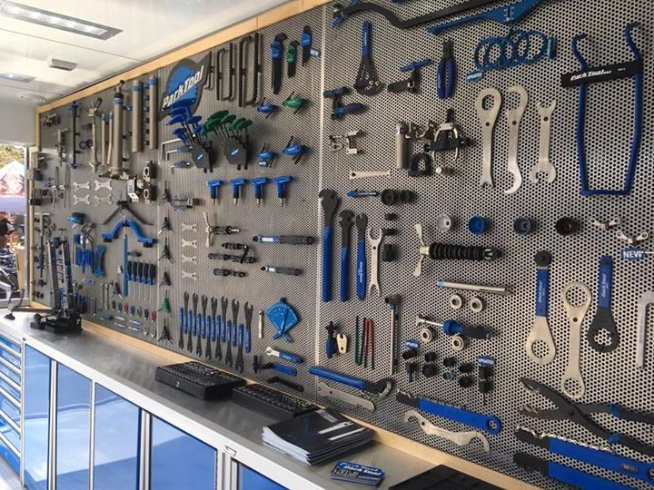 Beautiful Wall Of Park Tool In 2019 Bicycle Garage