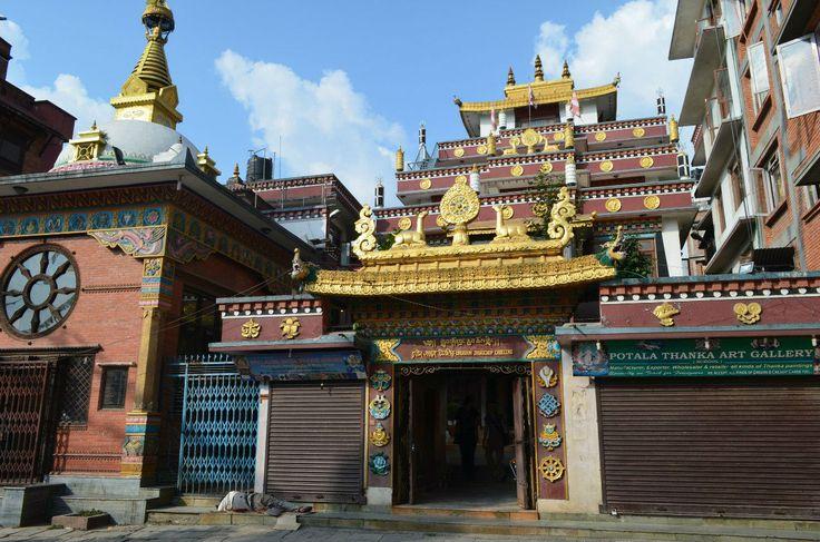 Буддистский храм в Катманду.  Вокруг Аннапурны, Hikeup