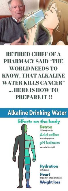 """Retired Chief of a Pharmacy said: """"The World needs to Know, That #Alkaline #Water Kills #Cancer"""" … Here is How to Prepare it! #healthlife"""