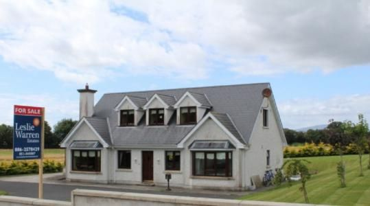 For Sale Beautiful 4 bed detached dormer bungalow located in Belline piltown with spectacular views of the countryside