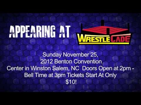 """See the son of the """"Nature Boy"""" Ric Flair, Reid Flair, at WrestleCade on 11/25/12 In Winston Salem, NC."""