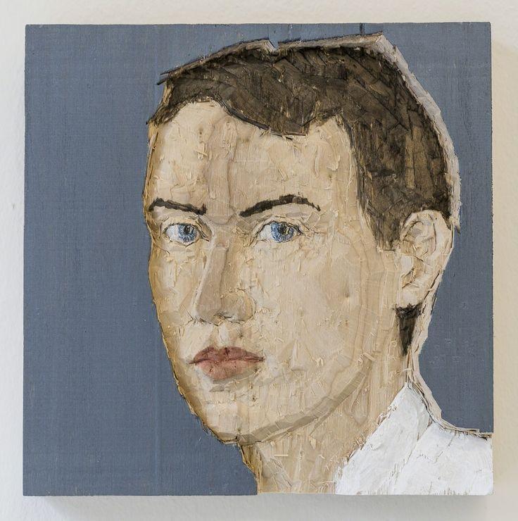 Stephan Balkenhol, Man (relief), 2016, Mai 36 Galerie