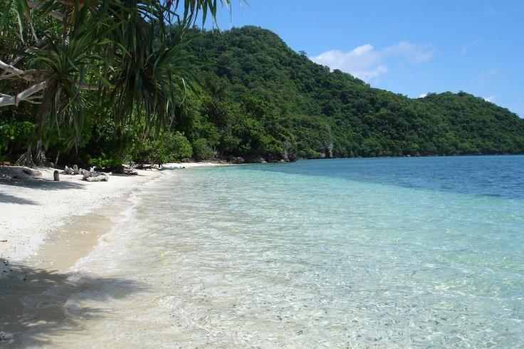 Takabonerate Marine Park located in Selayar Island, South Sulawesi
