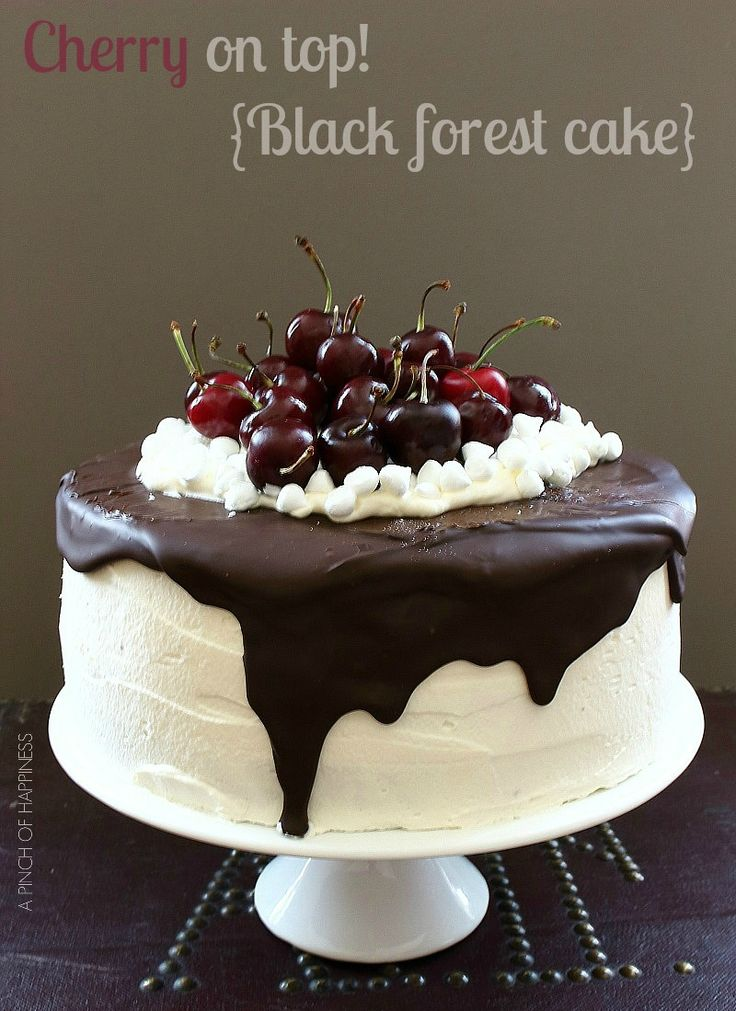 Best 25 Black Forest Cake Ideas On Pinterest