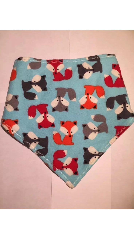 A personal favourite from my Etsy shop https://www.etsy.com/uk/listing/262254300/fox-cub-bandana-bib
