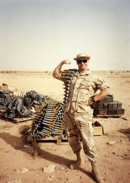 An overview of the two wars desert storm and vietnam