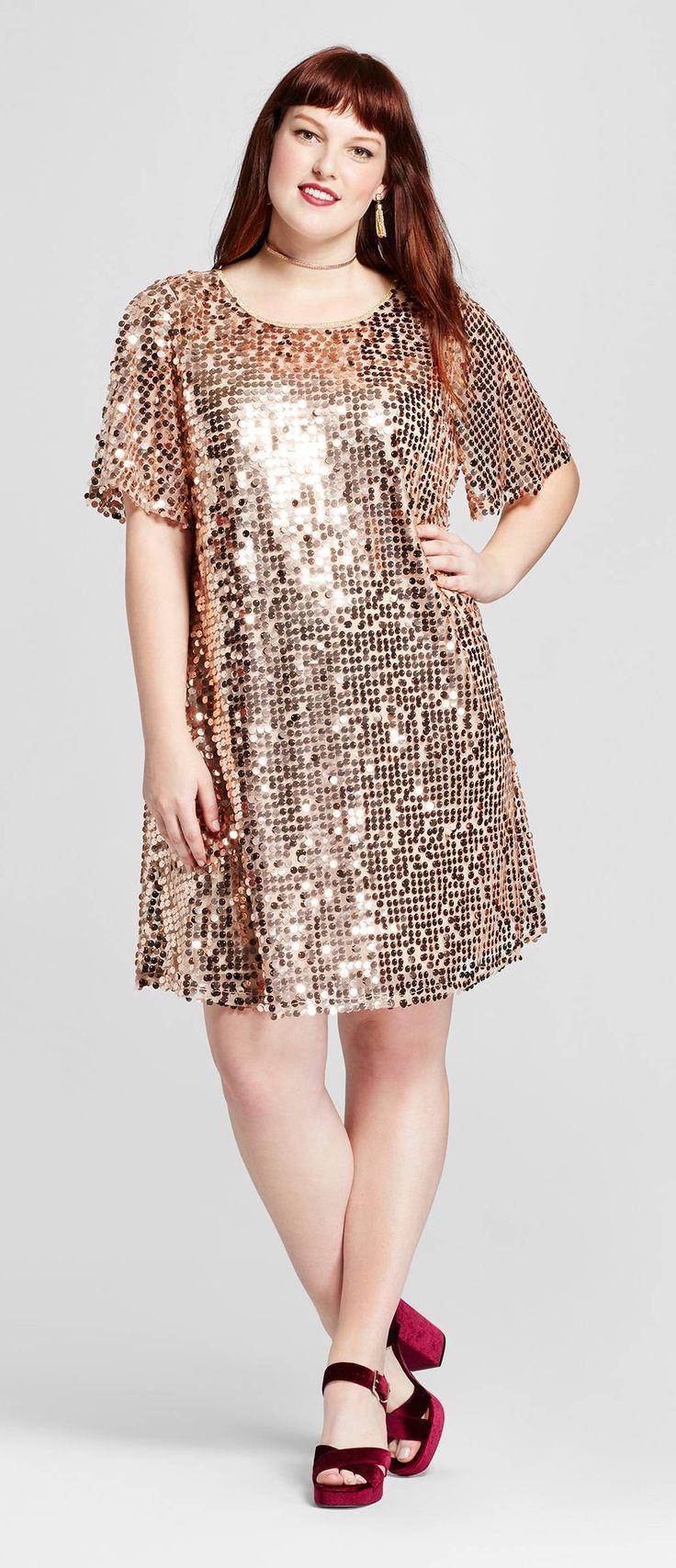 Plus Size Sequin Dress - Plus Size Party Dress – Plus Size Cocktail Dress #plussize
