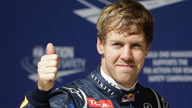 Sebastien Vettel - triple world champion