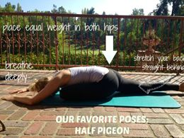 alignyo shares tips on how to do pigeon pose #yoga