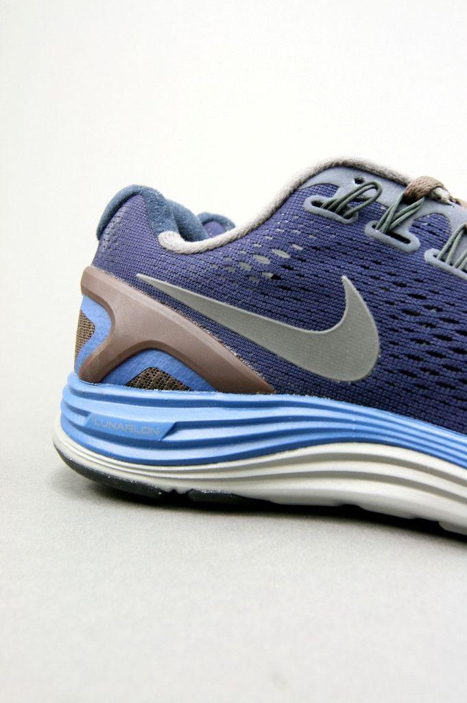 Nike Gyakusou Lunarglide 4: Blackened Blue