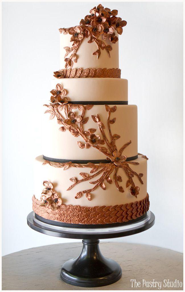 Jaw-Droppingly Beautiful Wedding Cake Inspiration from The Pastry Studio.