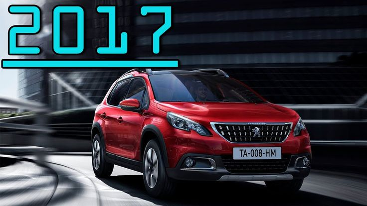 ►2017 Peugeot 2008 6 Speed Manual New SUV Peugeot 2008 First Drive Review