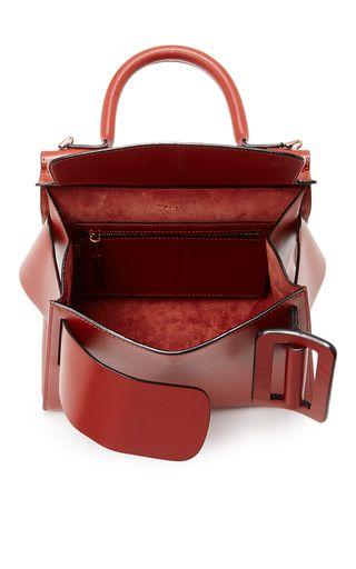 Leather Karl Top Handle Bag by BOYY for Preorder on Moda Operandi