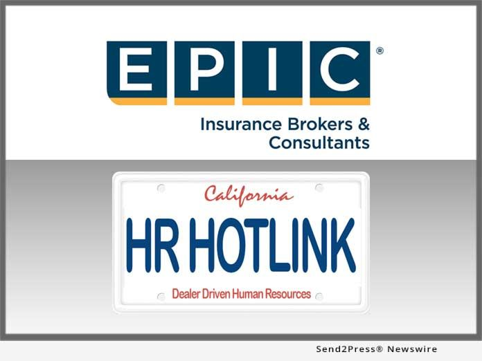 Epic Insurance Brokers And Hr Hotlink Partner For The Benefit Of