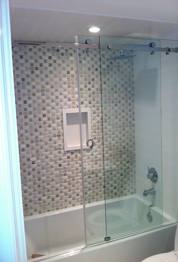 Bathroom Tub Glass Doors. Elegant Soaking Tub Shower Combo With ...