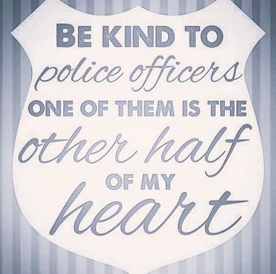 Cute little things he sends to me while at work. Officer K has my heart completely!! #PPD ☺️