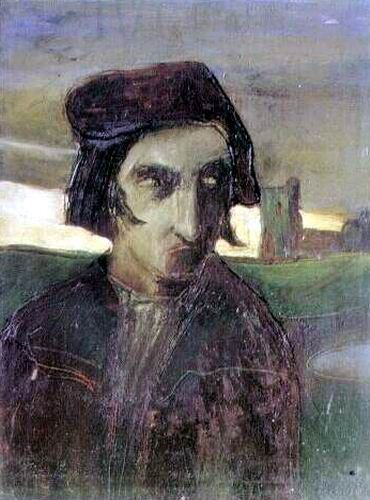 Gulácsy Lajos: Dante